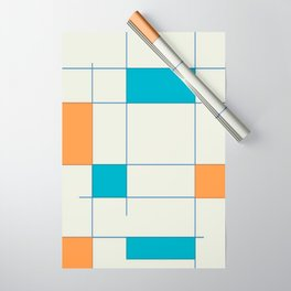Mid-Century Modern Art 2.5 Wrapping Paper