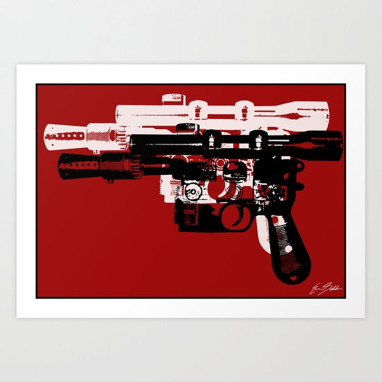 Blaster II Art Print