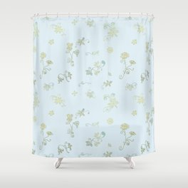 Fancy Flowers Shower Curtain