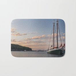 Maine Coast Sunset Bath Mat
