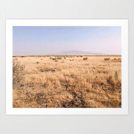 Idaho Pit Stop Art Print