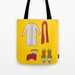 His indian outfit Tote Bag