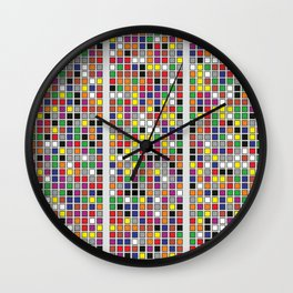 Untitled Two Wall Clock