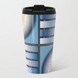 Cube 3 - Board in Blue Travel Mug