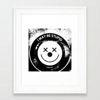 karma Framed Art Prints featuring Karma by Provocateur