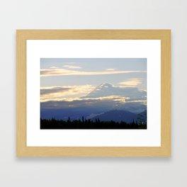 Denali (Mount McKinley) Framed Art Print