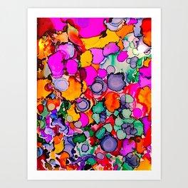 Color Blast! Art Print