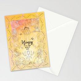 Pour Honey Over My Whole Life (Oshun Orisha) Stationery Cards