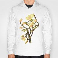 magnolia Hoodies featuring Magnolia by Lara Paulussen