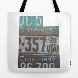 Vintage Utah Tote Bag