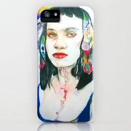 claire boucher iPhone Case