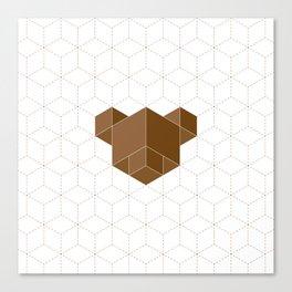 cubear Canvas Print