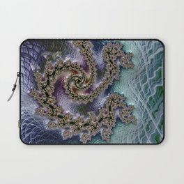 The Flow of Time Laptop Sleeve
