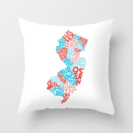 Where I'm From Throw Pillow