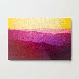 Shenandoah Sunrise Metal Print