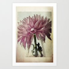Vintage - Purple Art Print
