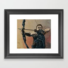 Hawkeye Framed Art Print