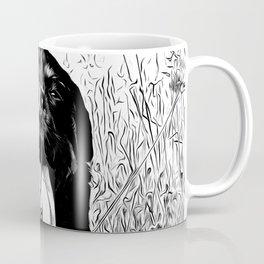 rottweiler dog long tongue vabw Coffee Mug