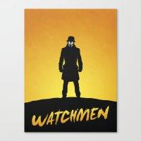 watchmen Canvas Prints featuring Watchmen by Nick Kemp