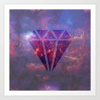 diamond Art Prints featuring Diamond by eARTh