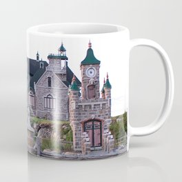 Stone Mansion on the River Coffee Mug
