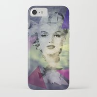 marilyn iPhone & iPod Cases featuring Marilyn by Esco
