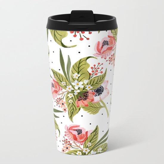 Flowers bouquet #15 Metal Travel Mug