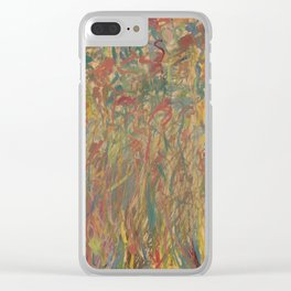My mind on a calm day Clear iPhone Case