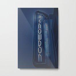 Deco Snowdon Metal Print