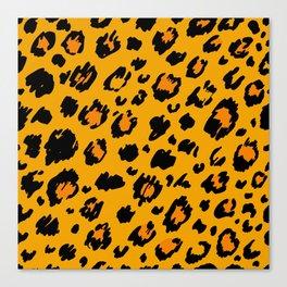 Cheetah skin pattern design Canvas Print