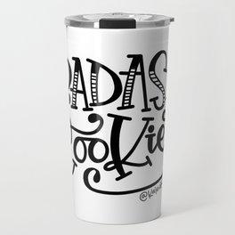 Badass Cookier Hand Lettered Design Travel Mug