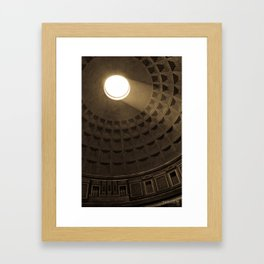 Pantheon Framed Art Print