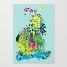 Ecosystem Canvas Print