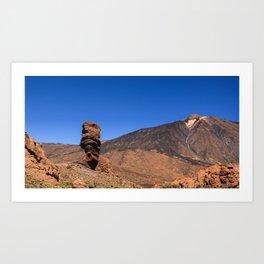 Teide National Park Art Print