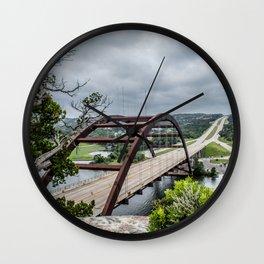 austin's 360 bridge Wall Clock