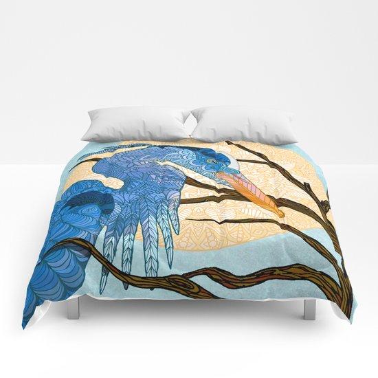 Egret Sun Comforters