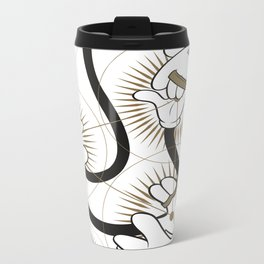 Intertwined Metal Travel Mug