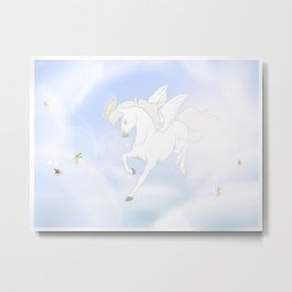 Horse Heaven Metal Print