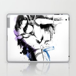 Shibari - Japanese BDSM Art Painting #10 Laptop & iPad Skin