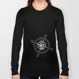 Navy Striped Nautica Long Sleeve T-shirt