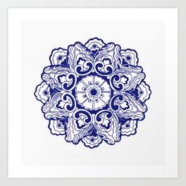Chinese Lucky Pattern Art Print
