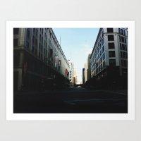 milwaukee Art Prints featuring Milwaukee, WI by Tatum Kevlin