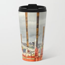 Wavewalker In Falmouth, Cornwall Travel Mug