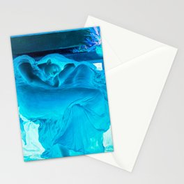 Flaming June > Flaming Blue (Frederick Leighton) Stationery Cards