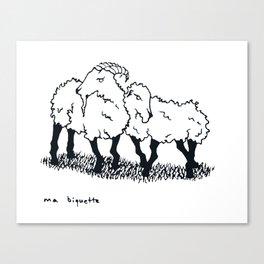 Ma Biquette Canvas Print