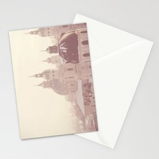 beneath her snow covered domes ... Stationery Cards
