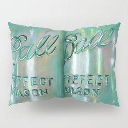 Ideal Mason Ball Jar Art Pillow Sham