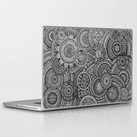 fibonacci Laptop & iPad Skins featuring Raindrops by Eurimos
