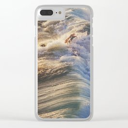 Wipe Out Clear iPhone Case