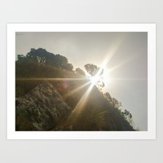 Shine Over Me Art Print